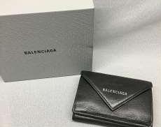 バレンシアガ ペーパーミニウォレット 三つ折り財布|BALENCIAGA