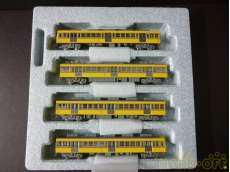 西武鉄道101系 初期型・分散冷房 4両増結セット KATO