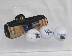 ゴルフボールケース|BURBERRY