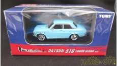 DATSUN 510 2000R SEDAN BLUE TOMY