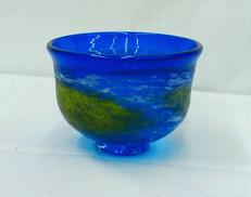 琉球ガラス 鉢|平良 恒雄