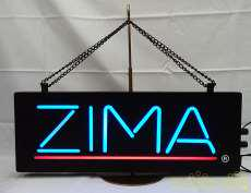 ZIMAネオンサイン|-