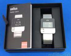 クォーツ・デジタル腕時計 BRAUN