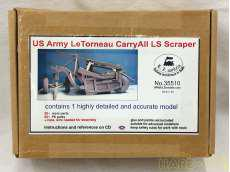 US Army Le Tomeau Carry All LS Scraper E.Z.MODELS
