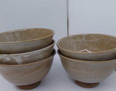 数茶碗 萩焼