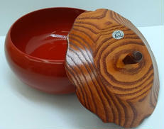 漆塗り菓子鉢|ー
