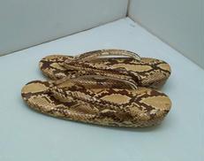 ヘビ革 草履|不明