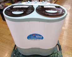 アルミス 2槽式小型洗濯機 NEW晴晴 アルミス