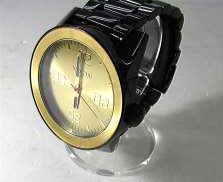 ニクソン CORPORAL SS ブラック/ゴールド 腕時計 NIXON