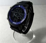 プレイタイム クォーツ・デジタル腕時計 替えベルト付き P01
