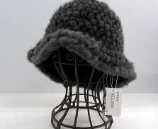 帽子 ミンク 毛皮|-