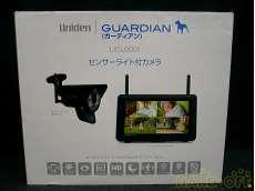 センサーライト付カメラ/モニター UNIDEN