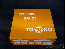 ④ 未使用 一般圧力計A形Φ75 TOKO(東洋計器興業) BT3/8G 75×1 TOKO