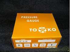 ① 未使用 一般圧力計A形Φ75 TOKO(東洋計器興業) BT3/8G 75×1 TOKO