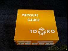 ② 未使用 一般圧力計A形Φ75 TOKO(東洋計器興業) BT3/8G 75×1 TOKO
