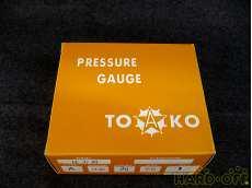 ③ 未使用 一般圧力計A形Φ75 TOKO(東洋計器興業) BT3/8G 75×1 TOKO