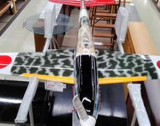 大型 エンジンラジコン飛行機セット KB WINGS 川崎
