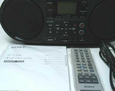 パーソナルオーディオシステム SONY