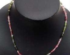 トルマリンネックレス|宝石付きネックレス