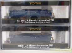 JR EF63系 電気機関車セット|TOMIX