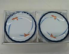 オーキッドレース・パン皿セット|香蘭社