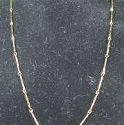 K18ネックレス|宝石無しネックレス