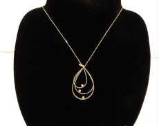 ダイヤ付ネックレス|宝石付きネックレス