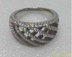 PT900ダイヤリング|宝石付きリング