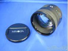 ミノルタ/中望遠単焦点レンズ MINOLTA