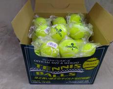 一般用硬式テニスボール37球 サクライ貿易