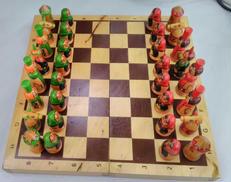 マトリョーシカチェスセット|-