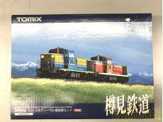 樽見鉄道TDE10形ディーゼル機関車セット TOMIX