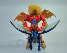 獣神ライガー&重戦馬ベガルーダ タカラ