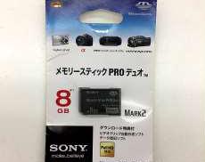 未使用 メモリースティック PRO デュオ 8GB|SONY