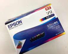 未使用 純正 開封品 インクカートリッジ(6色パック)ソリ|EPSON