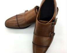 未使用品 ビジネスシューズ 本革 革靴|MON MODEL