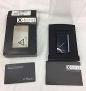 X・tend デュポン ガスライター ネイビー|S.T.DUPONT