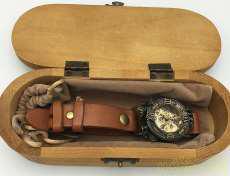 手巻き腕時計|MU-RA