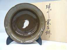 6寸菓子鉢 白鷺 臥牛窯