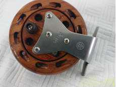 落とし駒木製タイコリール 80II 花梨|オリムピック