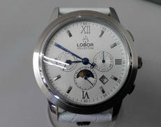 LOBOR 自動巻き腕時計 バックスケルトン|LOBOR