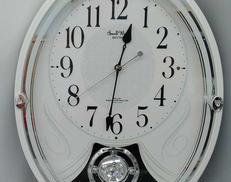電波式振り子時計 RHYTHM 4MN528RH|RHYTHM