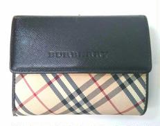 がま口二つ折り財布|BURBERRY