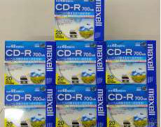 CD-R セット HITACHI MAXELL