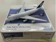 1/500 ニュージーランド航空 Boeing747-400 ZK-NBV HERPA WINGS