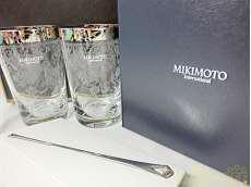 未使用 ペアグラス&マドラー|MIKIMOTO