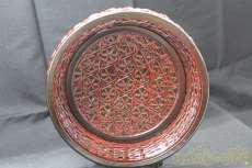 スカシの浅鉢 籃胎漆器