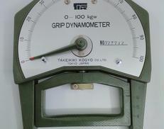 握力測定器|竹井機器工業