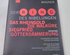 ワーグナー ニーベルングの指環 BLU-RAYボックス 輸入盤BD 4枚組