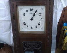 ゼンマイ式掛け時計 横浜エムズ掛時計